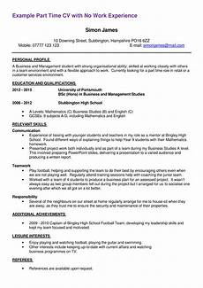 Resume For Part Time Job Student First Part Time Job Resume Sample Templates At
