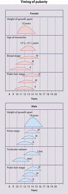 Growth And Puberty Obgyn Key