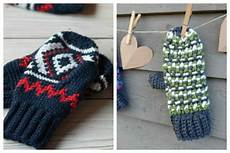 crochet mittens 11 free patterns fiberartsy