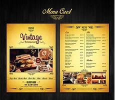 Catering Menu Card Menu Card Design On Behance