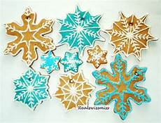 edible snow flake gingerbread cookie ornaments ornament