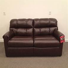 rv sofa sleeper brown vinyl convertible