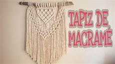 tapiz de macram 201 paso a paso tutorial de macrame facil en