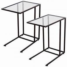 2pcs coffee tray side sofa end table ottoman stand