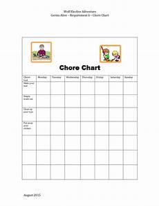 Kids Chore Chart Template 43 Free Chore Chart Templates For Kids ᐅ Templatelab