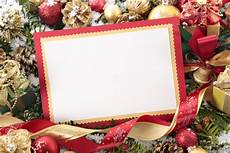 Christmas Card Borders Free Blank Christmas Card With Red Border Free Photo
