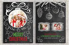 Card Templetes Christmas Card Template Card Templates Creative Market