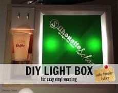 Vinyl Light Box Diy Vinyl Weeding Lightbox Silhouette School Bloglovin