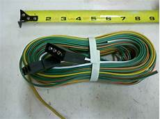 trailer 25 wiring harness 4 pole conductor wire with 4