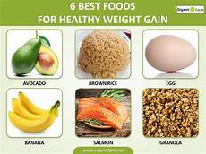 How To Gain Weight By Food Chart 20 Amazing Methods For Healthy Weight Gain Organic Facts