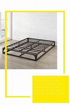 mellow 9 metal platform bed frame w heavy duty