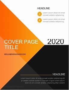 Report Cover Pages 5 Best Business Report Cover Page Templates For Ms Word