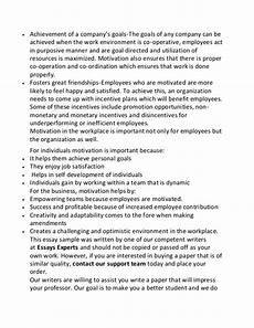 Essay On Self Motivation Essay On Motivation In English How To Write A Personal