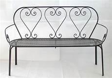 panchina in ferro divano panchina panca friendly 3 posti ferro battuto cm