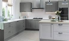 Grey Kitchens Kendal In Light Grey And Dust Grey The Kitchen Depot