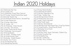 November 2020 Calendar With Indian Holidays Free 2020 Printable Calendar Templates With Indian