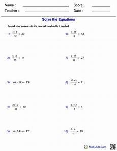 7th Grade Algebra 7th Grade Pre Algebra Worksheets Archives You Calendars