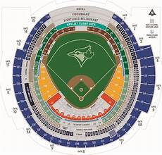 Rogers Centre Seating Chart Rogers Centre Toronto Blue Jays Ballpark Ballparks Of