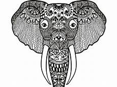 Afrikanische Muster Malvorlagen Zum Ausdrucken Ausmalbilder Mandala Tiere Kostenlos Ausdrucken