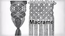 classic macrame knots and patterns from ancient times