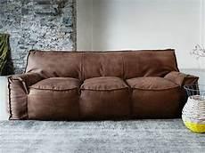 divani in cuoio prezzi 1700 jelly divano in pelle by vibieffe design gianluigi