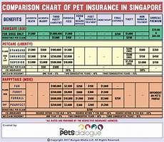 Pet Insurance Comparison Chart The Complete Pet Insurance Policy Guide In Singapore The