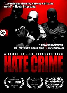 Crime Poster Design Hate Crime Movie Review Cryptic Rock