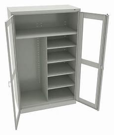 tennsco commercial storage cabinet light gray 78 quot h x 48