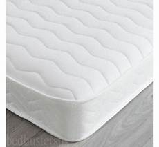 memory foam quilted mattress reflex orthopaedic 3ft 4ft