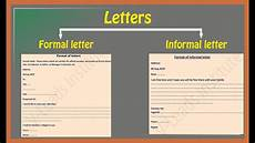 How To Format Letters How To Write Letters Formal Letter Informal Letter