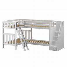 high corner bunk bed with ladder stairs r in 2020