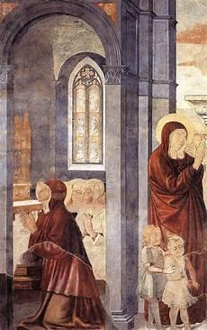 fresco mothers file benozzo gozzoli st augustine leaving his