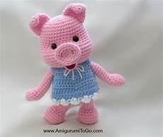 dress up pigs free pattern amigurumi to go