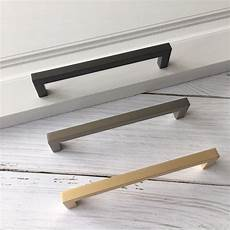 modern u shaped kitchen handle zinc alloy drawer