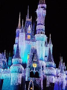 Antique Disney Christmas Lights Walt Disney World Christmas Lights Castle Dream