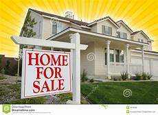Listing A Home For Sale Home For Sale Sign Amp House Stock Photo Image Of Message