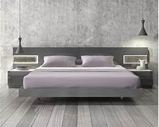 lacquered stylish wood elite platform bed with panels
