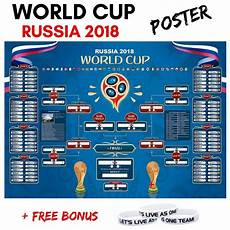 Fifa World Cup Russia Wall Chart Pin On Worldcup