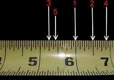What Does 1 8 Look Like On A Pie Chart How To Correctly Read A Tape Measure