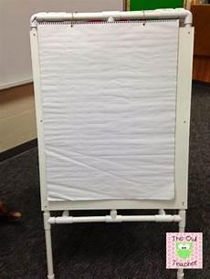 Teacher Easel For Chart Paper Diy Easel For Your Classroom The Owl Teacher