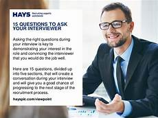 Interest Interview Questions 15 Questions To Ask Your Interviewer