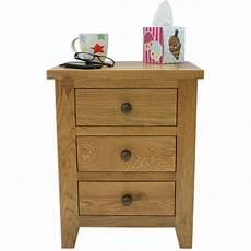 julian bowen marlborough 3 drawer bedside table