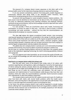 Care Worker Personal Statement Fieldtrip Health Centre