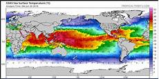 Roffers Sea Surface Temperature Charts Summer Arctic Ice Remains Stubborn As Volume Grows And