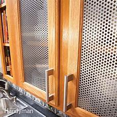 ideas for the kitchen cabinet door inserts
