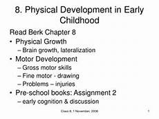 Physical Development In Early Childhood Ppt Physical Development In Early Childhood Powerpoint
