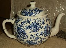 Buffalo Pottery China Old Teapot with Cover Being Sold As