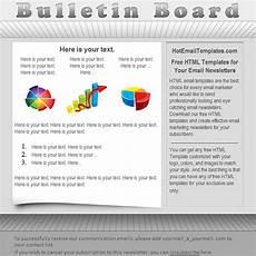 Bulletin Template Free Bulletin Free Html E Mail Templates