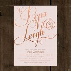 Elegant Classic Wedding Invitation Feel Good Wedding