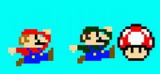 Pixelated Mario Characters Mario Characters Pixel Maker